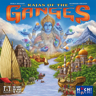 Opiniones de Rajas of The Ganges the board game