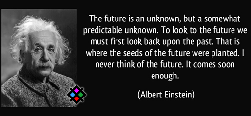Albert Einstein Quotes on Future