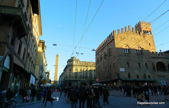 Piazza Maggiore, Bolonha