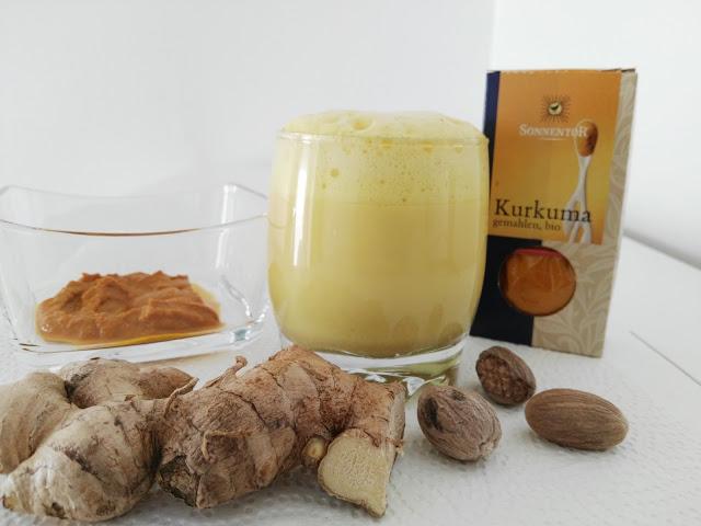 Kurkuma Latte - das gesunde Getränk