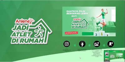 Kompetisi Virtual Anlene #JadiAtletDirumah