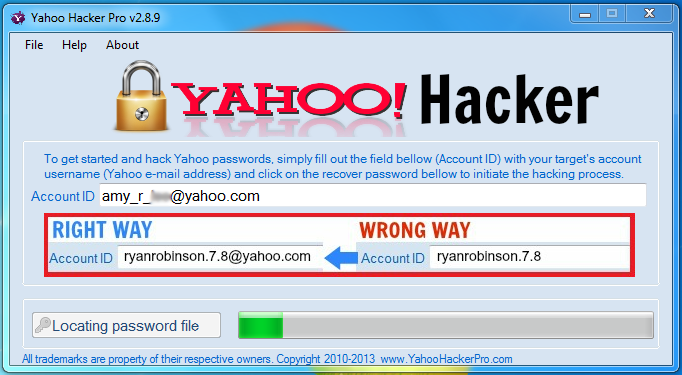 How to hack yahoo password yahoo mail hacking | gohacking.