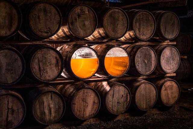 Glenmorangie's wooden casks