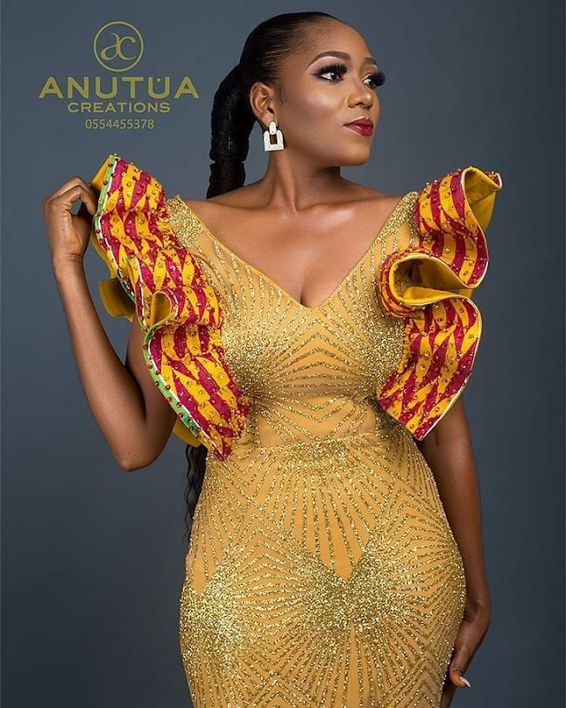 latest ankara short gown styles 2020 for ladies: 2020 stylish & gorgeous designs