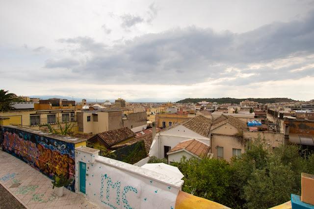 Vista dal Bastione Saint Remy-Cagliari