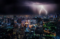 Lightning over Bangkok - Photo by Dominik QN on Unsplash