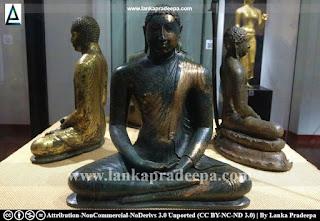 Bronze Samadhi Buddha image