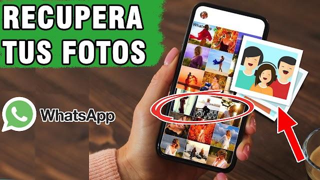 Cómo recuperar fotos borradas de WhatsApp