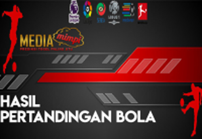 HASIL PERTANDINGAN BOLA 22 – 23 SEPTEMBER 2019