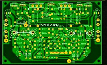 PCB Layout Design - Electronic Circuit