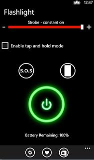 Free Flashlight For Phone - Windows Phone