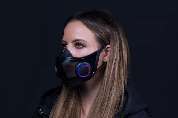 Razer makes its own RGB face mask