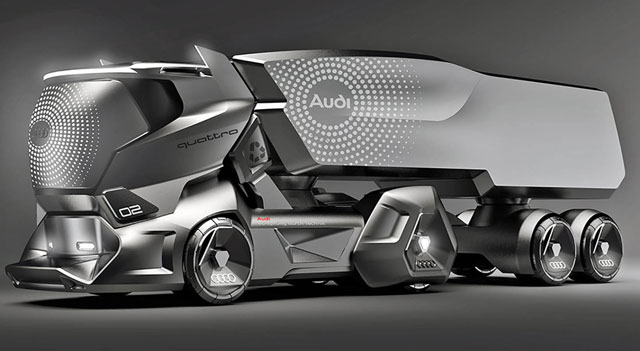 Audi Model II - the bold imagination of a bright future