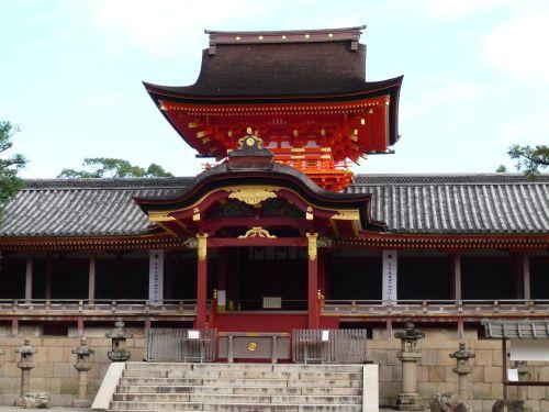 石清水八幡宮楼門
