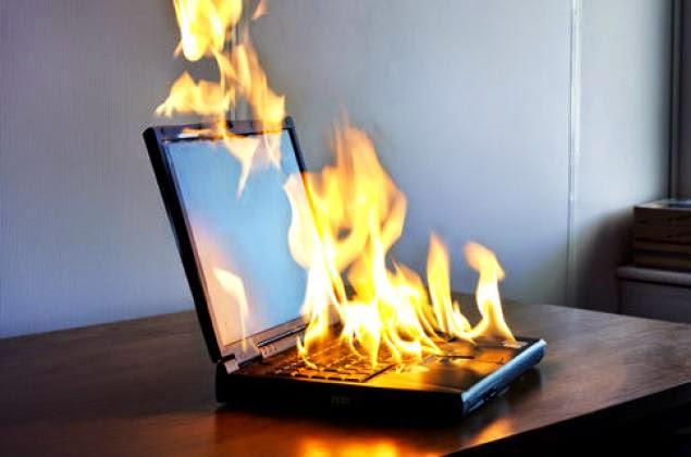 laptop panas, laptop cepat panas, atasi laptop panas, penyebab laptop panas