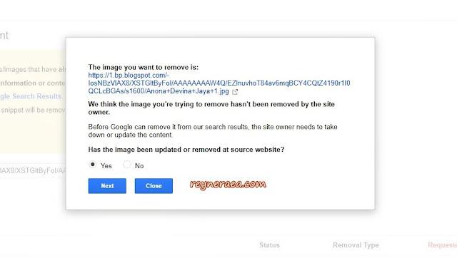 cara menghapus foto di google