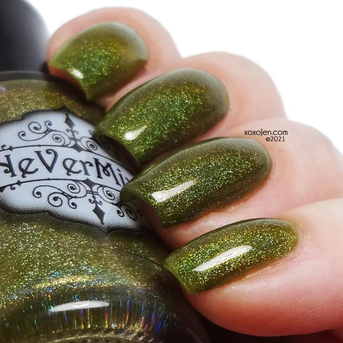 xoxoJen's swatch of Nevermind Gorge