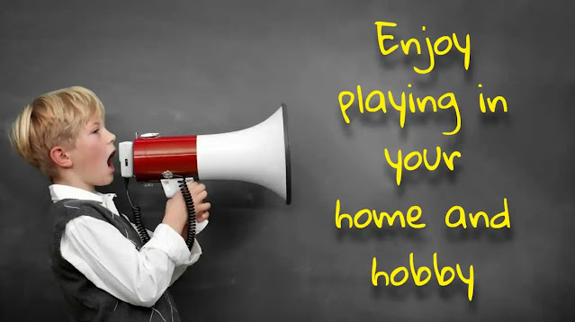 Enjoy playing in your home and hobby
