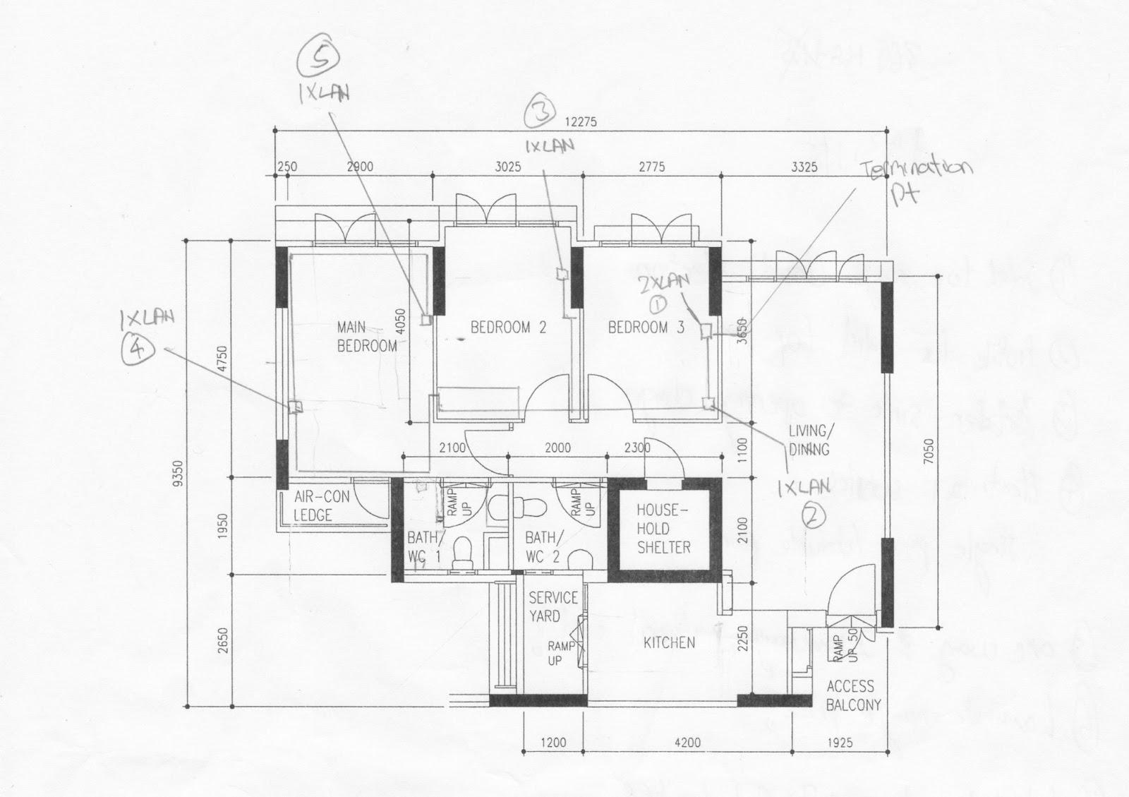 rj45 layout