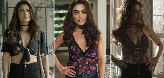 Looks ousados da personagem Bibi Perigosa