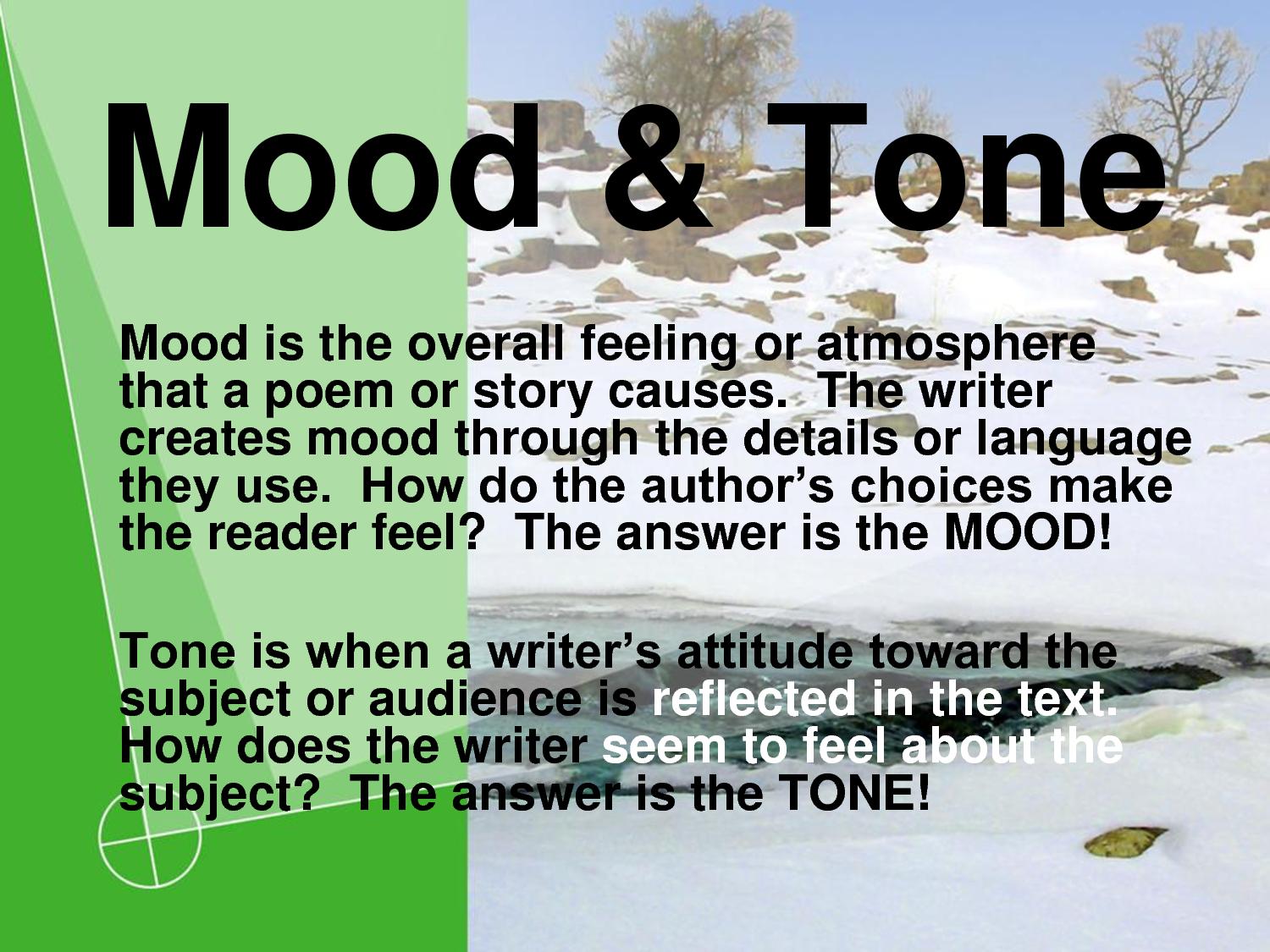 Caveman English Tone And Mood