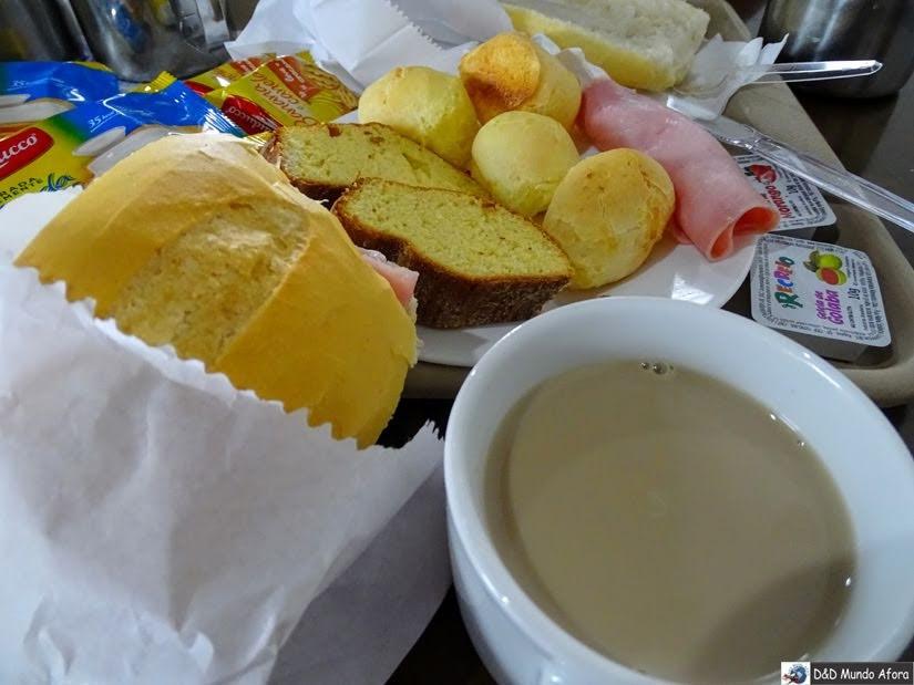 Café da manhã - Onde ficar em São Paulo - Review hotel Lua Nova