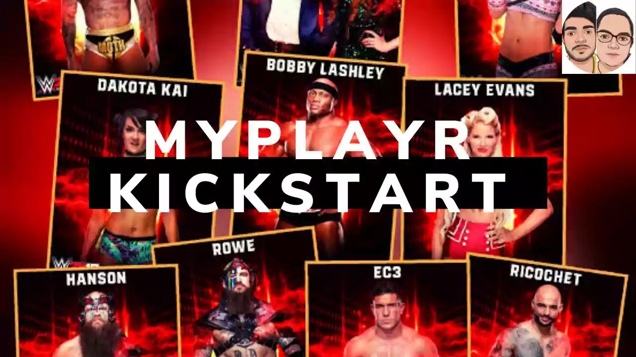MYPLAYER KICKSTART WWE 2K19 DLC
