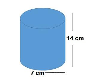 contoh soal luas permukaan tabung