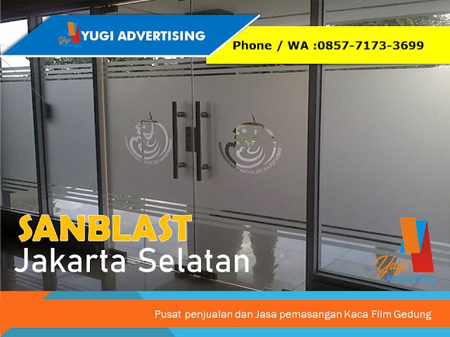 Sanblast Jakarta Selatan