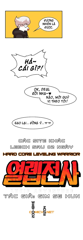 Hard Core Leveling Warrior