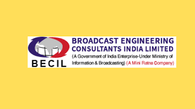 BECIL Recruitment 2021 Notification for Placement Training Skilled & Unskilled Manpower Post