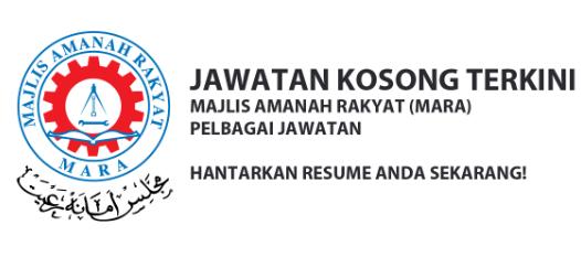 Peluang Kerjaya Bersama Majlis Amanah Rakyat [MARA] - Sesi 2021