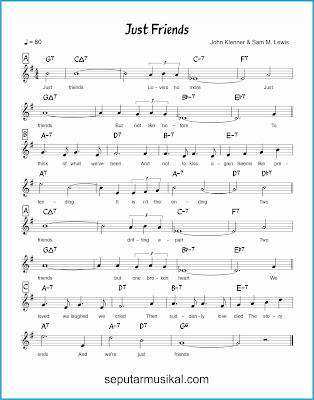 just friends lagu jazz standar