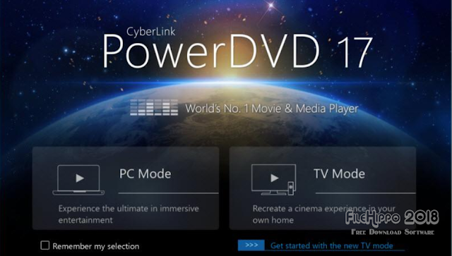 Free Download CyberLink PowerDVD 17 Ultra 2018 Latest Version