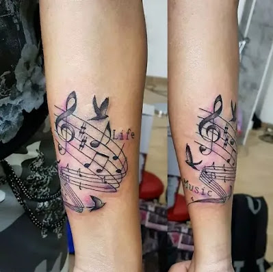 Awesome Music Tattoo Collection For Everyone Wild Tattoo Art
