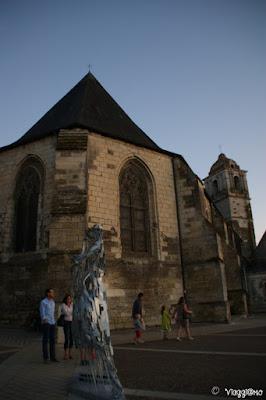 L'Eglise di Saint Florentin si trova ai piedi del castello di Amboise
