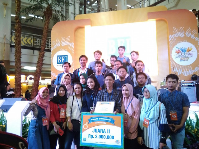 Juara 2 di Smart Community Challenge Persembahan BFI Finance