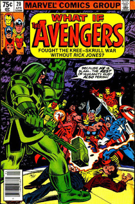 What If #20, the Avengers fought the Kree-Skrull War without Rick Jones