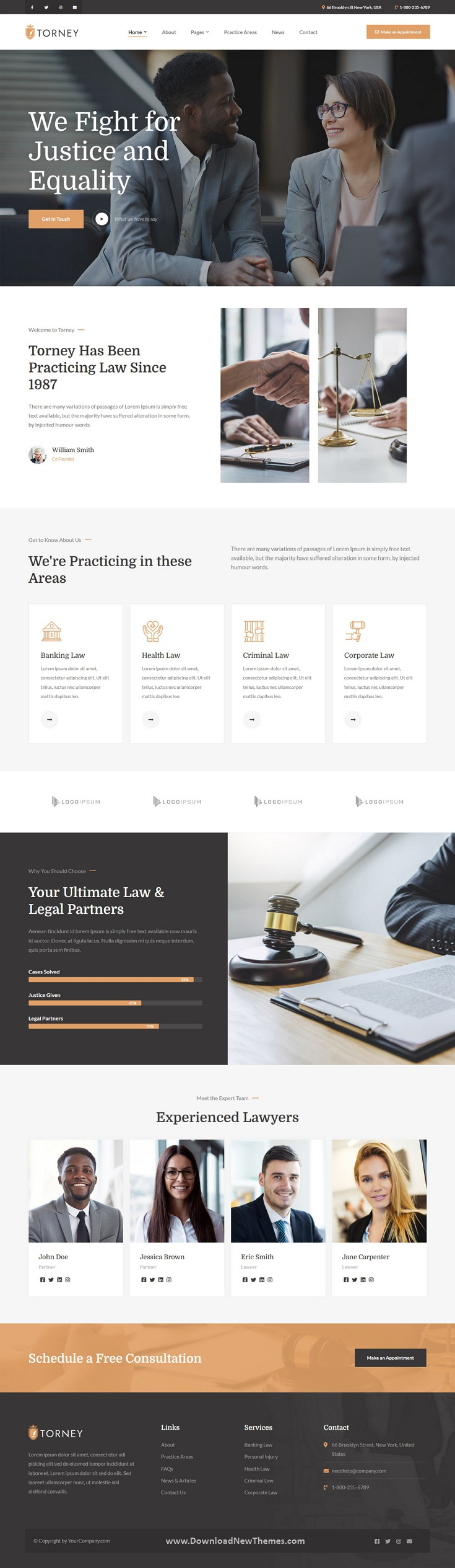 Lawyer and Attorney Theme