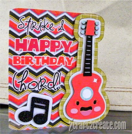 Lettering Delights, Silhouette Cameo, Silhouette Studio DE, Print and Cut. Birthday Card