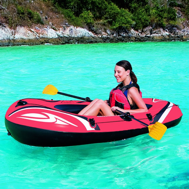 Hydro-Force Raft Set Inflatable 1-Person Boat
