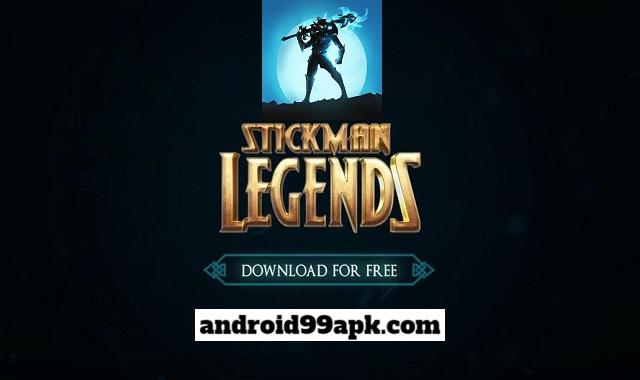 لعبة Stickman Legends v2.4.64 مهكرة بحجم 83 ميجابايت للأندرويد