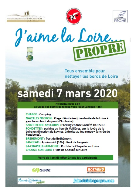 J'aime la Loire propre, le grand nettoyage de Loire