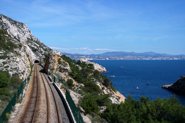 train côte bleue marseille