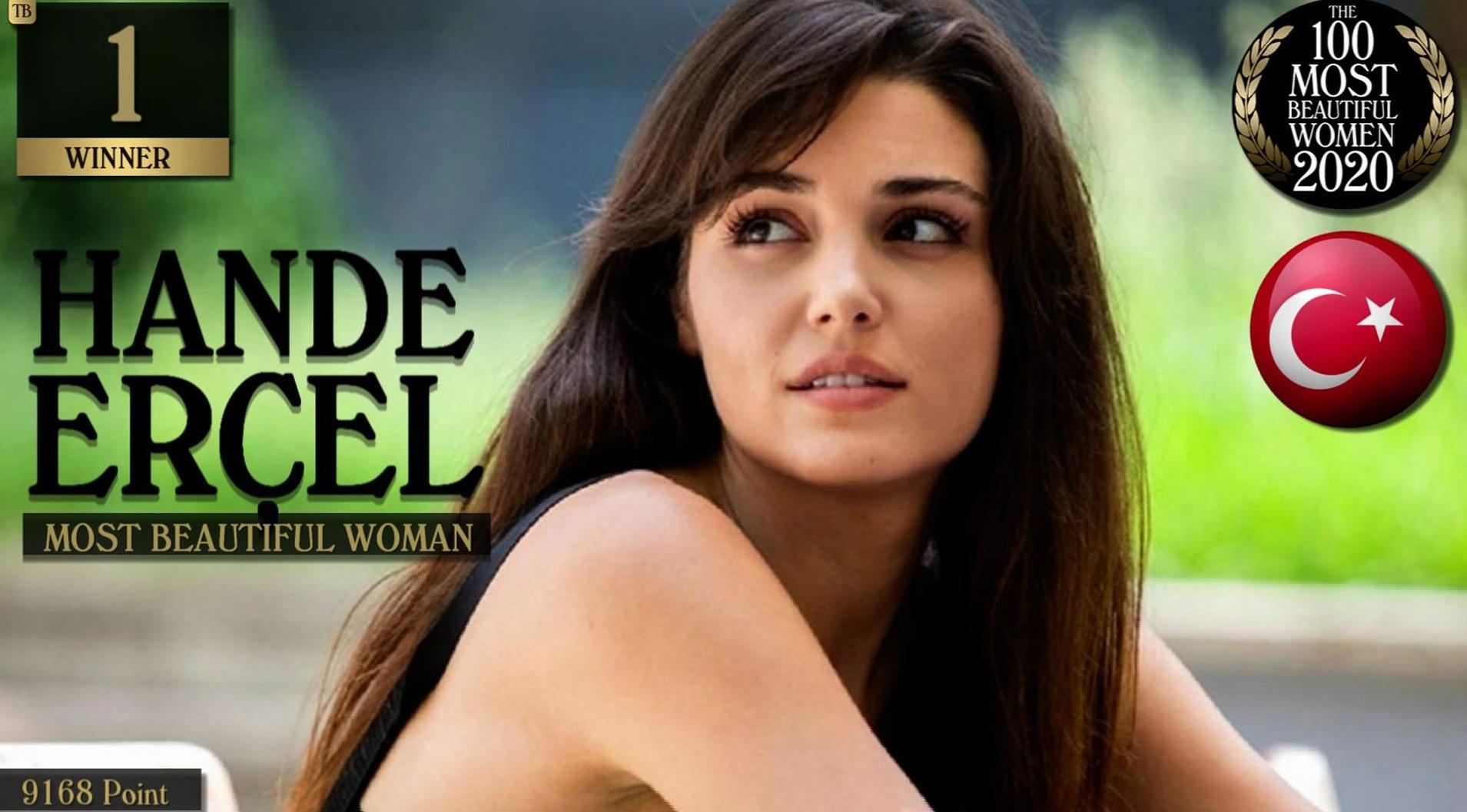 profil Hande Ercel Jadi Wanita Tercantik di Dunia , Cek Faktanya Disini