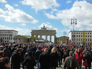 March for Science von der Humboldt-Universität zum Brandenburger Tor