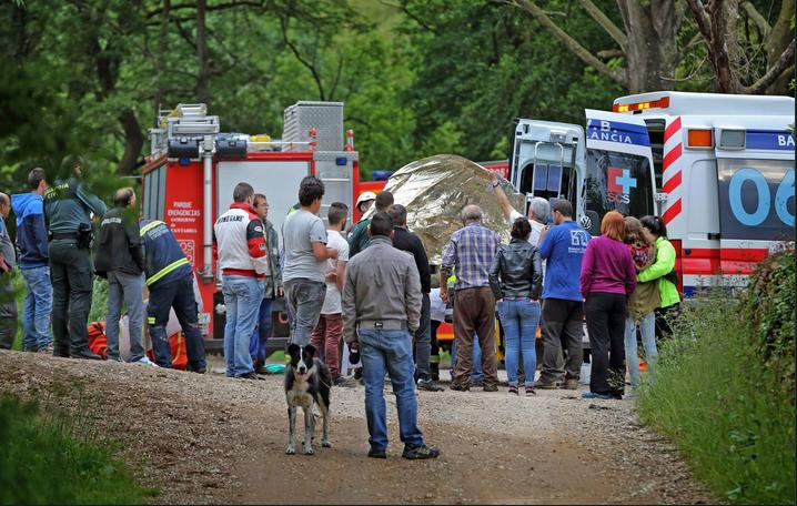 Gremat un herido al despe arse camion con madera en cantabria - Maderas cantabria ...