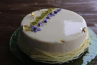 Fotografia della torta Dall'inverno alla primavera di Cristina D. del blog Coccole di dolcezza