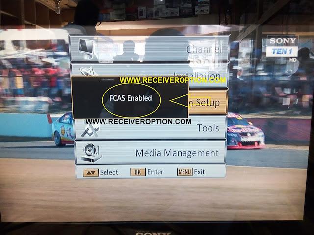 SUPER GOLDEN LAZER 9000 HD RECEIVER POWERVU KEY OPTION