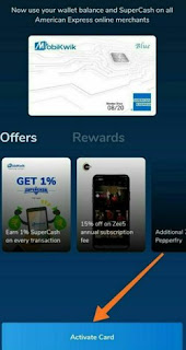 MobiKwik American Express Card Activate